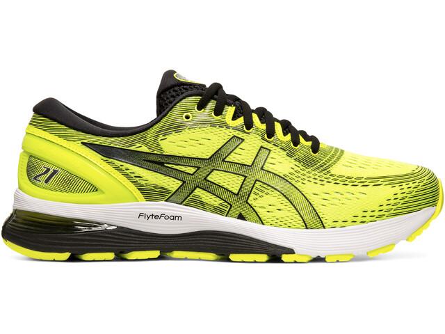 sklep internetowy nowy styl najlepszy wybór asics Gel-Nimbus 21 Buty Mężczyźni, safety yellow/black